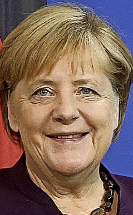 Merkel    Foto: Wolfgang Kumm (dpa)