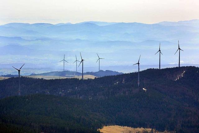 Einige der Windkraft-Wogen rund um Schopfheim sind geglättet