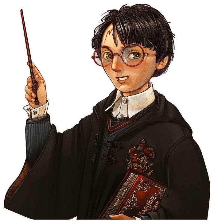 Dieser Harry stammt aus der von Iacopo... zum 20-jährigen Potter-Jubiläum 2018.    Foto: Carlsen Verlag