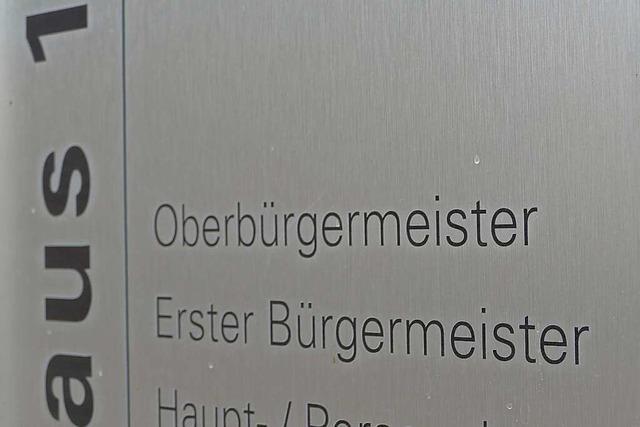Bürgermeister Schöneboom und der künftige OB Ibert wollen zusammenarbeiten