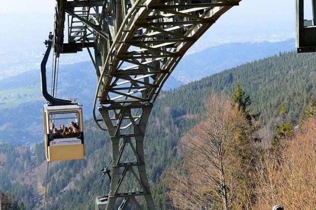 Die Schauinslandbahn fährt am heutigen Donnerstag nicht