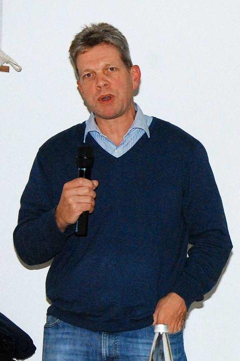 Dr. Martin Frankemölle, der Leiter des Veterinäramts im Landkreis Emmendingen.  | Foto: Dorothea Scherle