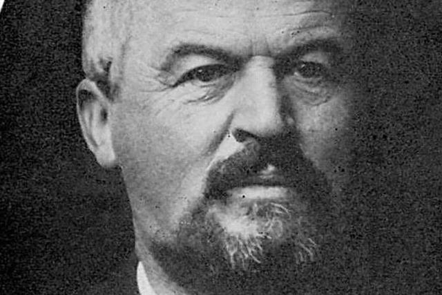 Dr. Albert Schinzinger war ein revolutionärer Arzt