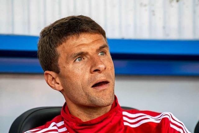 Thomas Müller frustriert es, nur noch ein Ersatzspieler zu sein