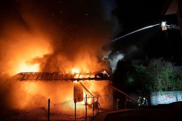 Prozess wegen Netto-Markt Brandstiftung in Müllheim hat begonnen