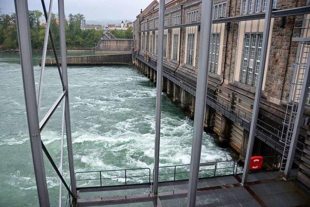 Mehr Wasser, aber weniger Absatz fürs Kraftwerk