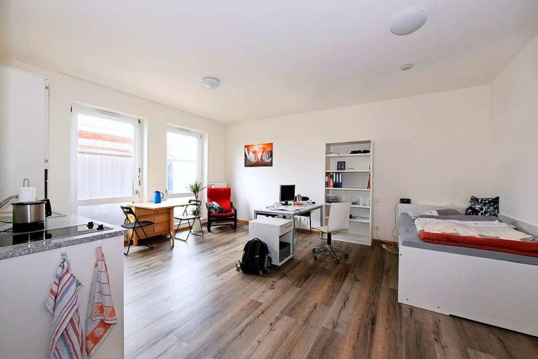 Apartment im Wohnheim Campus, das vom Studierendenwerk betrieben wird  | Foto: Thomas Kunz