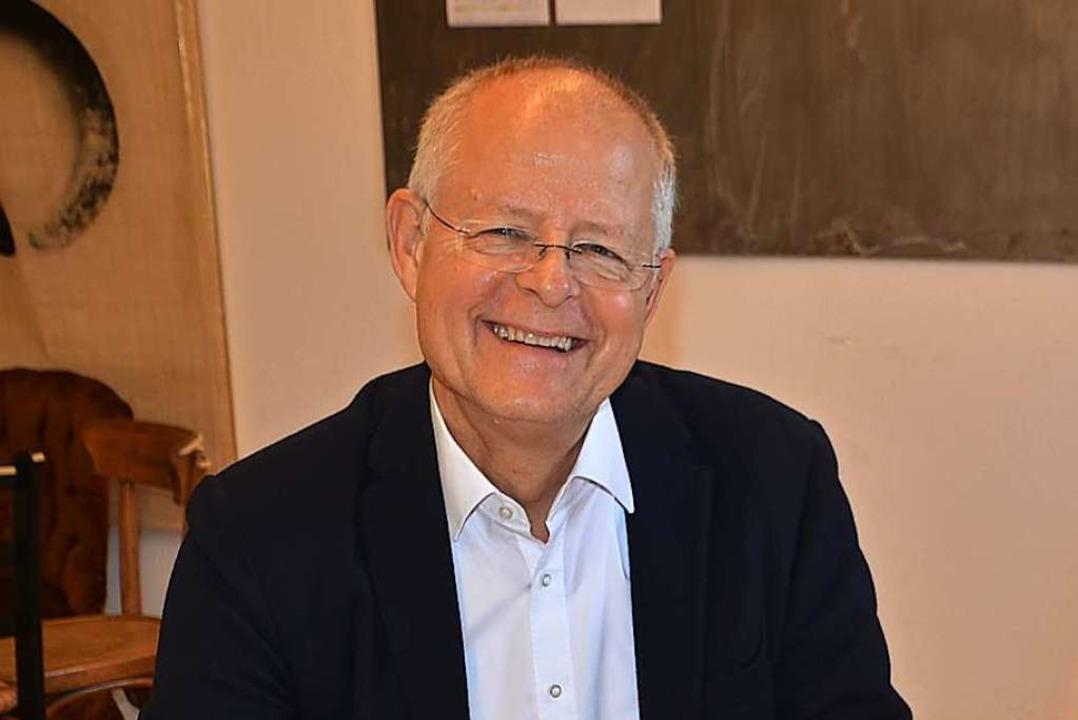 Der Freiburger Autor und Coach Peter M...tober in der Universität Freiburg vor.  | Foto: Roland Vitt
