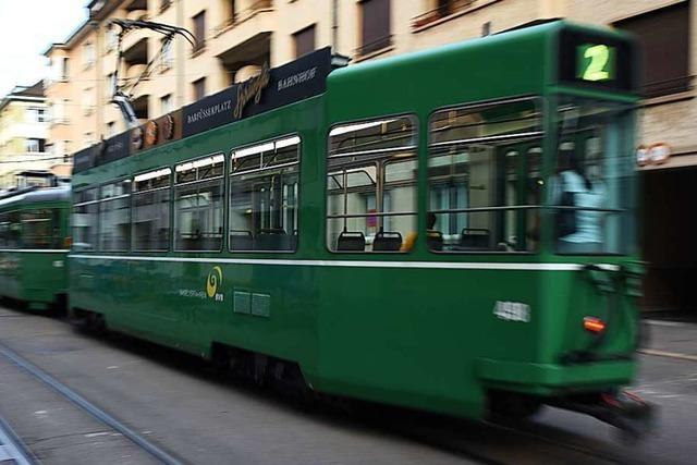 Der Basler Tramverkehr fährt wieder nach Plan