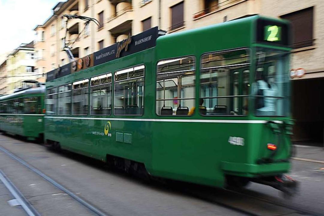 Die Trams fahren seit Donnerstagmorgen wieder nach Plan.  | Foto: Jonas Hirt