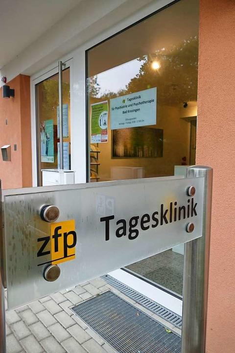 Eingang zur Tagesklinik für Menschen m...chischen Erkrankungen in Bad Krozingen  | Foto: Frank Schoch