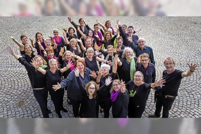 Jazzchor Offenburg gibt ein Konzert mit Jazz- und Gospelsänger Malcolm Green