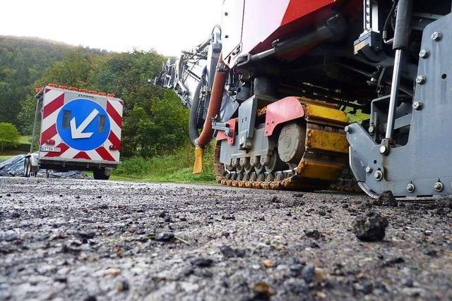 Starkregen führt zu längerer Sperrung der B317 zwischen Feldberg und Todtnau