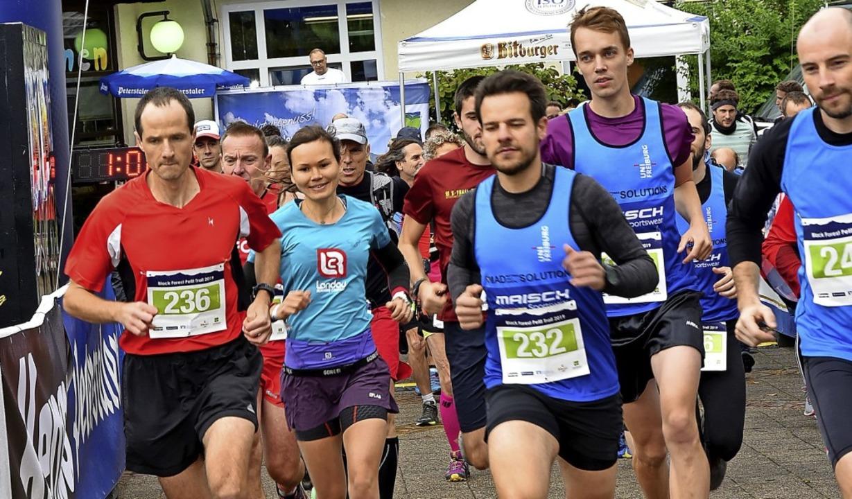 Ein ganzes Wochenende stand Simonswald...fieber. Rund 200 Teilnehmer starteten.  | Foto: Horst Dauenhauer