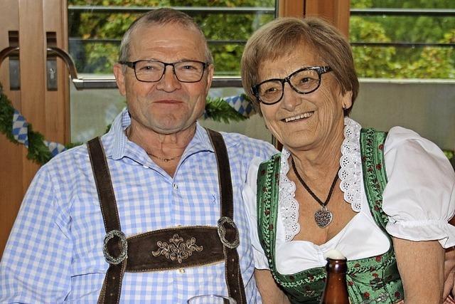 Senioren feiern Oktoberfest