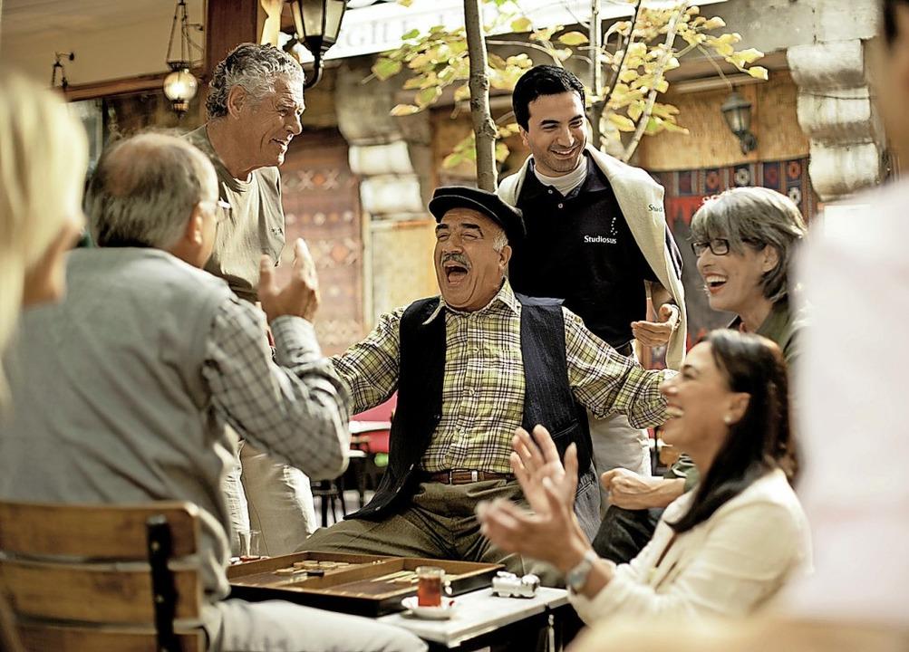 Reiselust altert nicht: Senioren unterwegs  | Foto: Studiosus