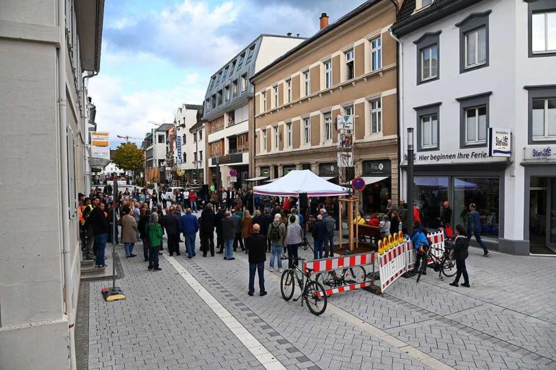 Die nördliche Basler Straße ist eröffnet.  | Foto: Jonas Hirt