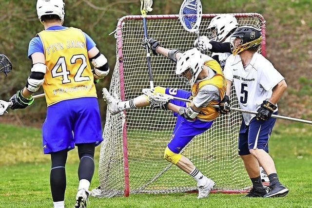 Heimspiel für Lacrosse-Team