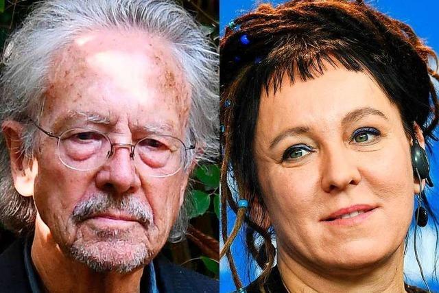 Würdige Preisträger: Peter Handke und Olga Tokarczuk