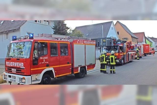 Feuerwehreinsatz in Kappel-Grafenhausen