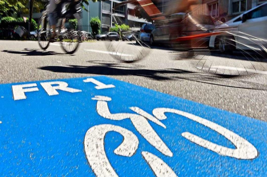 In Freiburg gibt es bereits Radschnellverbindungen.  | Foto: Michael Bamberger