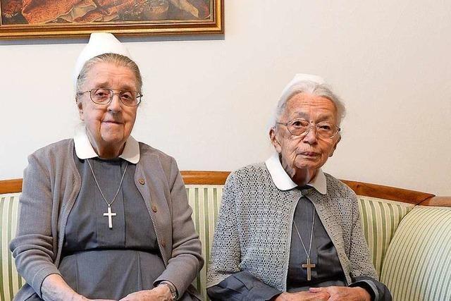 Diakonissen seit 70 Jahren: Zwei Freiburgerinnen leben ihren Glauben