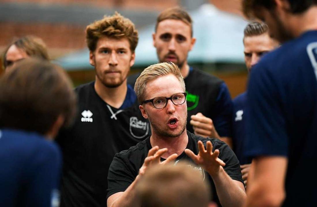 FT-Trainer Jakob Schönhagen setzt auf ...Kompetenz und intensive Kommunikation.  | Foto: Patrick Seeger