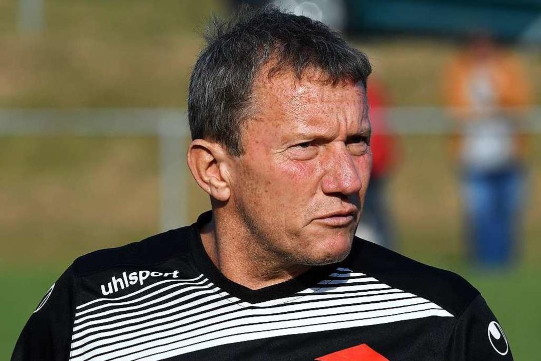 Trainer mit Verletzungssorgen: Thomas Wolf  | Foto: Wolfgang Scheu