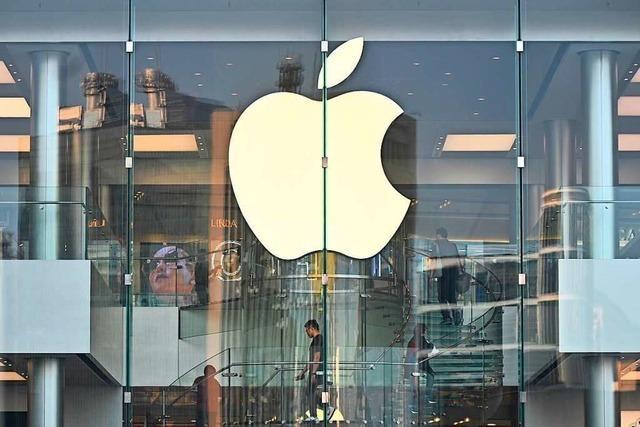 Apple knickt vor Peking ein