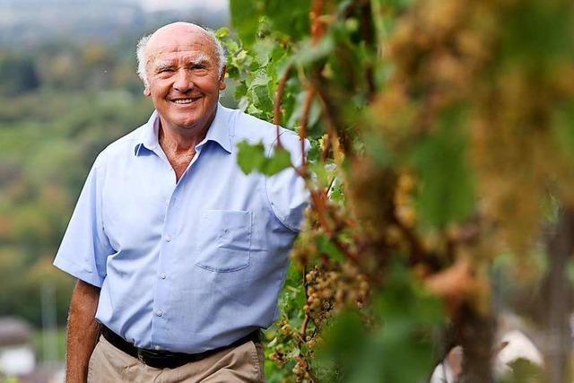 Der ehemalige Weinbaupräsident Gerhard Hurst wird 80