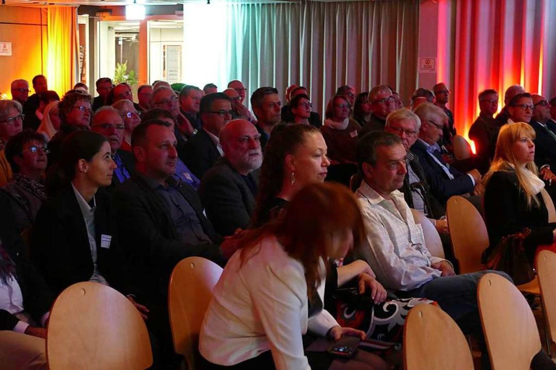 Rund 150 Gäste kamen zu den  Rheinfelder Wirtschaftsgesprächen.    Foto: Ralf H. Dorweiler