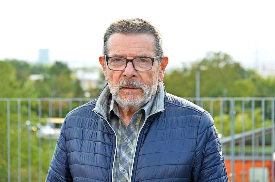 Der Schwarzwaldvereinsvorsitzende Berthold Schmitz.  | Foto: Moritz Lehmann