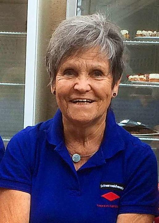 Die zweite Vorsitzende Barbara Gediehn  | Foto: privat