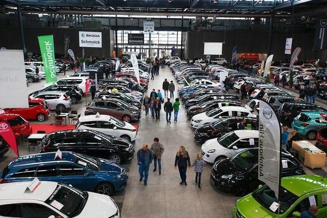Am Wochenende findet die Südbadischen Gebrauchtwagen-Verkaufsschau statt – zum 125. Mal