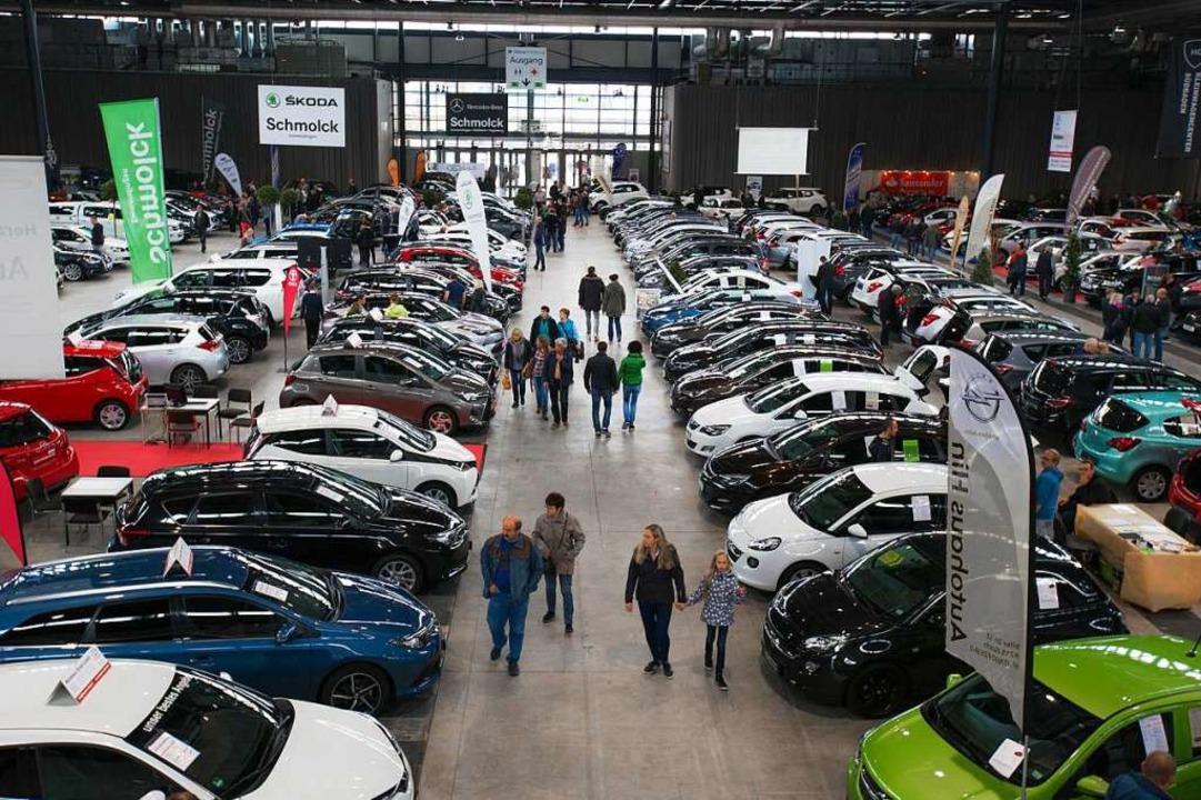 45 Kfz_Händler aus der Region wollen insgesamt 700 Autos präsentieren.-  | Foto: Nicolas Kuri/FWTM