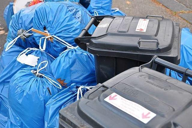 Die Müllgebühren im Landkreis Lörrach bleiben 2020 stabil