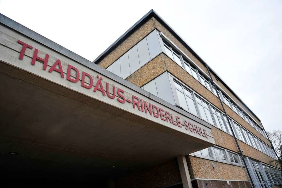 Thaddäus-Rinderle-Schule  | Foto: Hans-Peter Müller