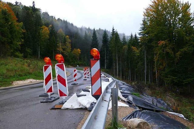 Straße zwischen Bonndorf und der Schattenmühle wird saniert – 10 Tage Vollsperrung