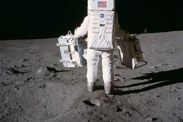 Der Erdtrabant im Spiegel – Deutsche Ingenieurskunst auf dem Mond