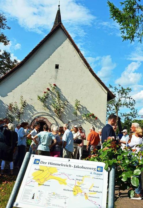 Die Jakobuskapelle auf dem Gelände des Hofguts Himmelreich in Kirchzarten  | Foto: Gerhard Lück
