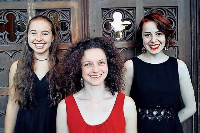 Barockensemble spielt alte und neue Musik im Schloss