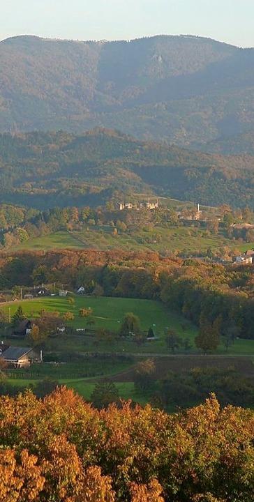 Blick vom Turm in Richtung Kandelgipfel   | Foto: Verein Eichbergturm