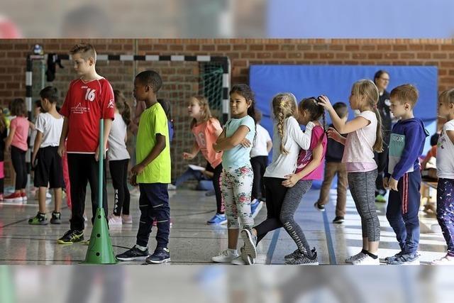 Werbung für den Handballsport