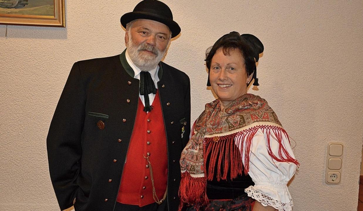 Alfred Knauber und Marianne Waßmer     Foto: Karl-Heinz Rümmele