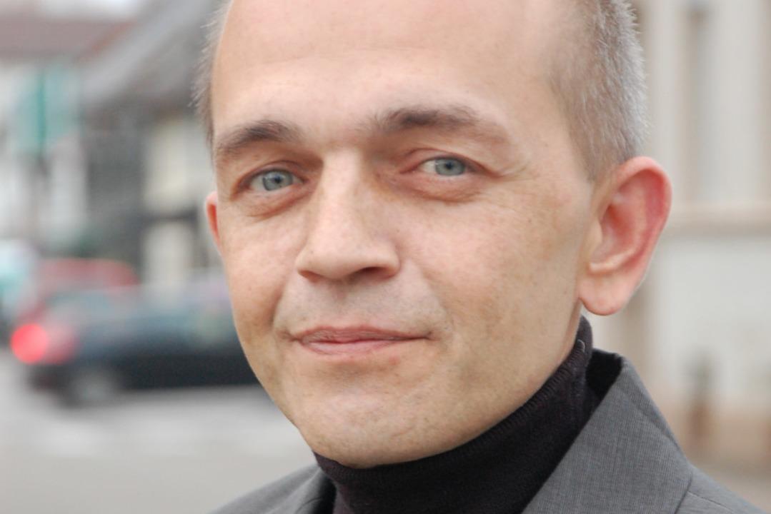 Taras Maygutiak sitzt für die AfD im Offenburger Gemeinderat.  | Foto: Karen Christeleit