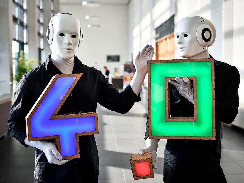 Braucht es in der Fabrik 4.0 nur noch ...n sie künftig aber auch drauf haben.    | Foto: Ole Spata (dpa)