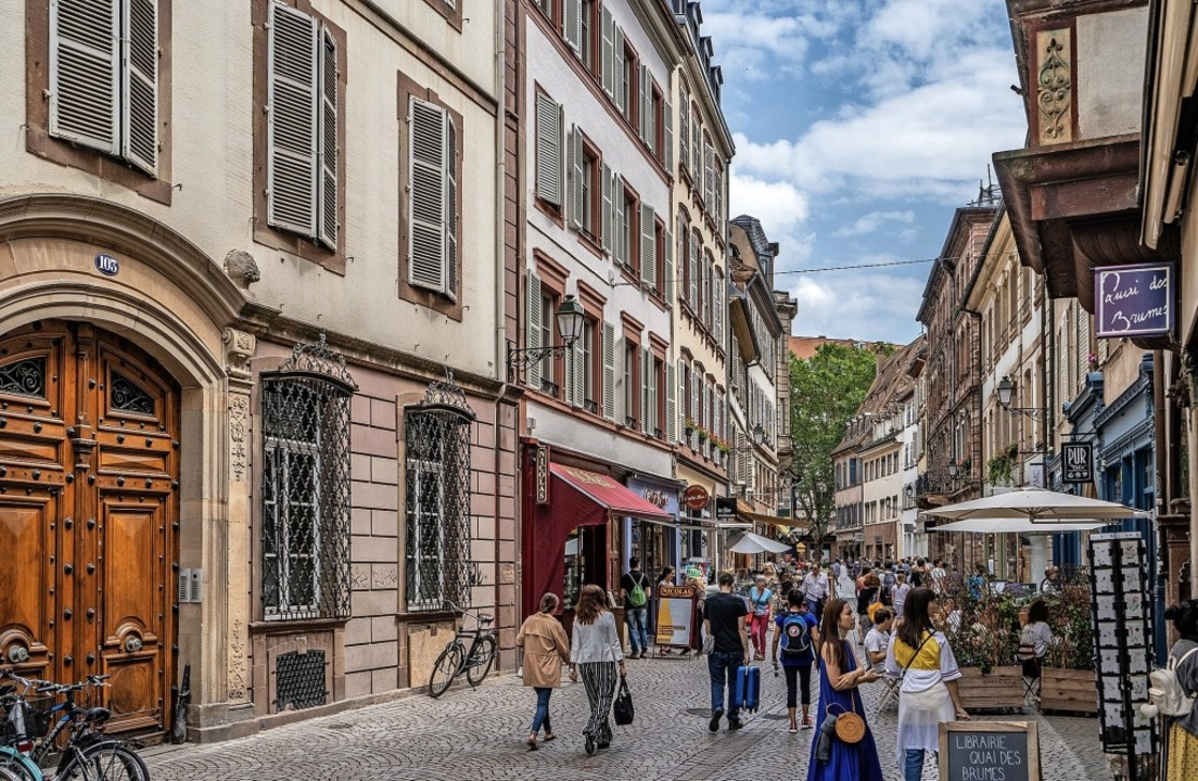 Immer mehr Filialisten machen sich auch in der populären Grand'Rue breit.   | Foto: teli