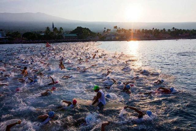 Vier Freiburger starten beim Ironman auf Hawaii