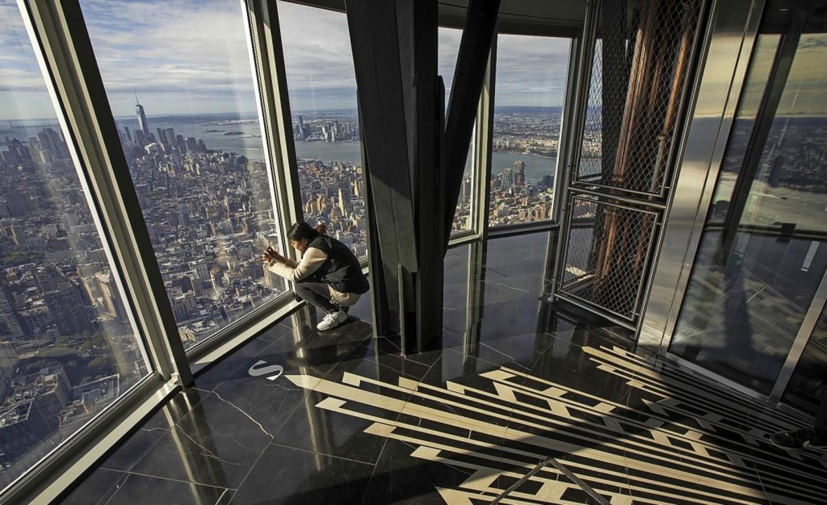 Die neu gestaltete Aussichtsplattform im 102. Stock des Empire State Buildings    Foto: Drew Angerer