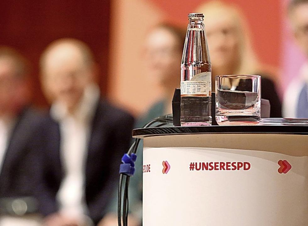 Wohin steuern die Sozialdemokraten?    Foto: Roland Weihrauch (dpa)